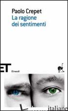 RAGIONE DEI SENTIMENTI (LA) - CREPET PAOLO