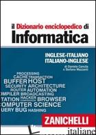 DIZIONARIO ENCICLOPEDICO DI INFORMATICA. INGLESE-ITALIANO, ITALIANO-INGLESE. EDI - CANCILA DANIELA; MAZZANTI STEFANO