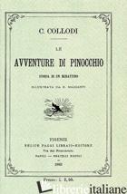 AVVENTURE DI PINOCCHIO. STORIA DI UN BURATTINO (RIST. ANAST. 1883) (LE) - COLLODI CARLO