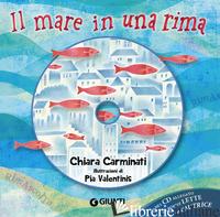 MARE IN UNA RIMA. EDIZ. A COLORI. CON CD-AUDIO (IL) - CARMINATI CHIARA