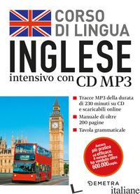 CORSO DI LINGUA. INGLESE INTENSIVO. CON CD AUDIO FORMATO MP3 - PECK A. J. (CUR.)