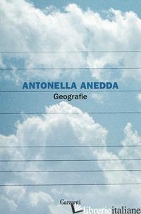 GEOGRAFIE - ANEDDA ANTONELLA