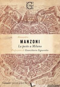 PESTE A MILANO (LA) - MANZONI ALESSANDRO