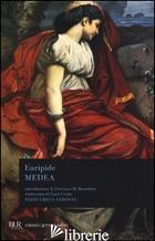 MEDEA. TESTO GRECO A FRONTE - EURIPIDE