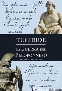 GUERRA DEL PELOPONNESO (LA) - TUCIDIDE