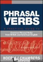 PHRASAL VERBS - AA VV