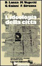 IDEOLOGIA DELLA CITTA' - LANZA DIEGO