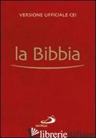 BIBBIA POCKET. VERSIONE UFFICIALE DELLA CEI (LA) - RAVASI G. (CUR.); MAGGIONI B. (CUR.)