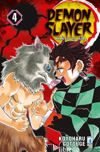DEMON SLAYER. KIMETSU NO YAIBA. VOL. 4 - GOTOUGE KOYOHARU