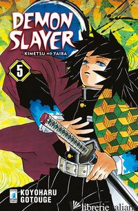 DEMON SLAYER. KIMETSU NO YAIBA. VOL. 5 - GOTOUGE KOYOHARU