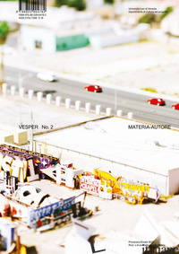 VESPER. RIVISTA DI ARCHITETTURA, ARTI E TEORIA-JOURNAL OF ARCHITECTURE, ARTS & T - DIPARTIMENTO DI CULTURE DEL PROGETTO UNIVERSITA' IUAV DI VENEZIA (CUR.)
