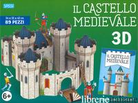 CASTELLO MEDIEVALE 3D. EDIZ. A COLORI. CON GIOCATTOLO (IL) - GAULE MATTEO; TREVISAN IRENA; LEGIMI FRANCESCO