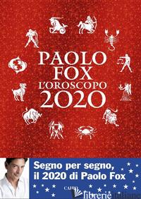 OROSCOPO 2020 (L') - FOX PAOLO