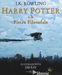 HARRY POTTER E LA PIETRA FILOSOFALE. EDIZ. A COLORI. VOL. 1 - ROWLING J. K.; BARTEZZAGHI S. (CUR.)