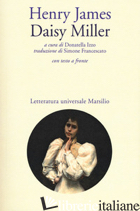 DAISY MILLER. TESTO INGLESE A FRONTE - JAMES HENRY; IZZO D. (CUR.)