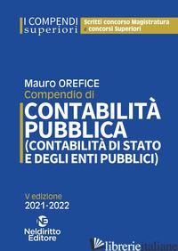COMPENDIO DI CONTABILITA' PUBBLICA (CONTABILITA' DI STATO E DEGLI ENTI PUBBLICI) - FRATINI MARCO