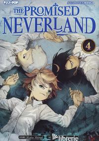 PROMISED NEVERLAND (THE). VOL. 4 - SHIRAI KAIU