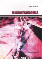 MICROECONOMIA - MASSIDDA CARLA