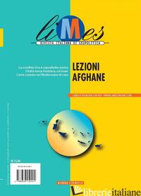 LIMES. RIVISTA ITALIANA DI GEOPOLITICA (2021). VOL. 8: LEZIONI AFGHANE - AA.VV.
