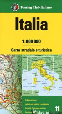 ITALIA 1:800.000. CARTA STRADALE E TURISTICA - AA VV