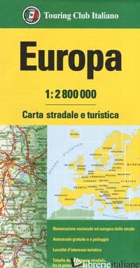 EUROPA 1:2.800.000. CARTA STRADALE E TURISTICA -