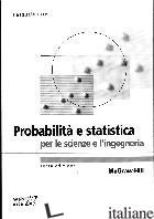 PROBABILITA' E STATISTICA PER LE SCIENZE E L'INGEGNERIA - ERTO PASQUALE