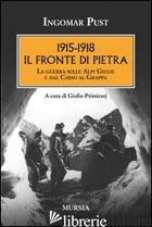 1915-1918: IL FRONTE DI PIETRA. LA GUERRA SULLE ALPI GIULIE E DAL CARSO AL GRAPP - PUST INGOMAR
