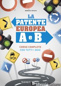 PATENTE EUROPEA A E B (LA) - BALDUINO SIMONE