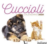CUCCIOLI. CALENDARIO DESK 2020 -