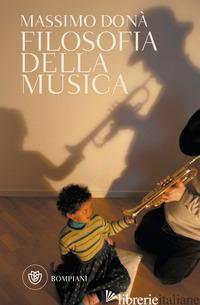 FILOSOFIA DELLA MUSICA - DONA' MASSIMO