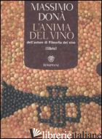 ANIMA DEL VINO-AHMBE'. CON CD AUDIO (L') - DONA' MASSIMO