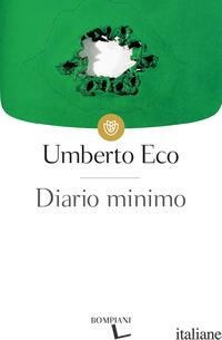 DIARIO MINIMO - ECO UMBERTO