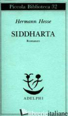 SIDDHARTA - HESSE HERMANN