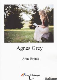 AGNES GREY. EDIZ. INGLESE - BRONTE ANNE