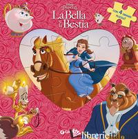 BELLA E LA BESTIA. LIBRO PUZZLE. EDIZ. A COLORI (LA) - AA. VV.