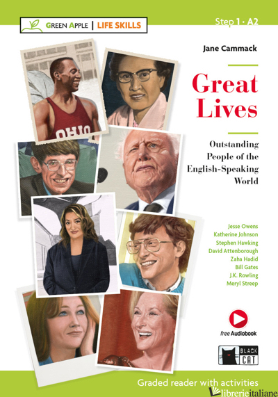 GREAT LIVES. OUTSTANDING PEOPLE OF THE ENGLISH-SPEAKING WORLD. CON E-BOOK. CON E - CAMMACK JANE