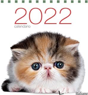 GATTI. CALENDARIO DA TAVOLO 2022 -