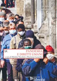 PANDEMIA E DIRITTI UMANI - NICOLETTI M. (CUR.)