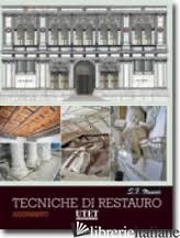 TECNICHE DI RESTAURO - MUSSO STEFANO F.