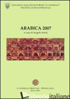 ARABICA 2007 - ARIOLI ANGELO