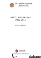 MISCELLANEA ARABICA 2010-2011 - ARIOLI ANGELO