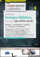 CC 3/2 LE ATTIVITA' DI SOSTEGNO DIDATTICO NELLA SCUOLA DELL'INFANZIA E PRIMARIA. - CRISAFULLI V. (CUR.)