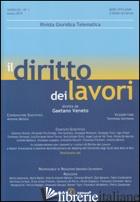 DIRITTO DEI LAVORI (2015) (IL). VOL. 1 -