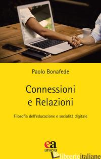 CONNESSIONI E RELAZIONI - BONAFEDE PAOLO