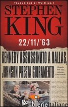 22/11/'63 - KING STEPHEN