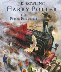 HARRY POTTER E LA PIETRA FILOSOFALE. EDIZ. ILLUSTRATA. VOL. 1 - ROWLING J. K.; BARTEZZAGHI S. (CUR.)