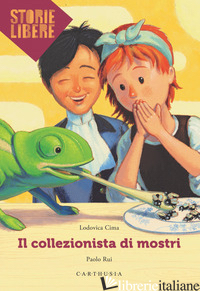 COLLEZIONISTA DI MOSTRI (IL) - CIMA LODOVICA