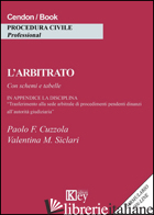 ARBITRATO (L') - SICLARI VALENTINA MARIA; CUZZOLA PAOLO FORTUNATO
