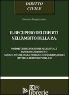 RECUPERO DEI CREDITI NELL'AMBITO DELLA P.A. (IL) - BONGIOVANNI SIMONE