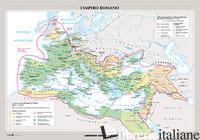 IMPERO ROMANO. LA CIVILTA' GRECA. CARTA MURALE (L') - AA VV